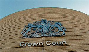 crown court sign